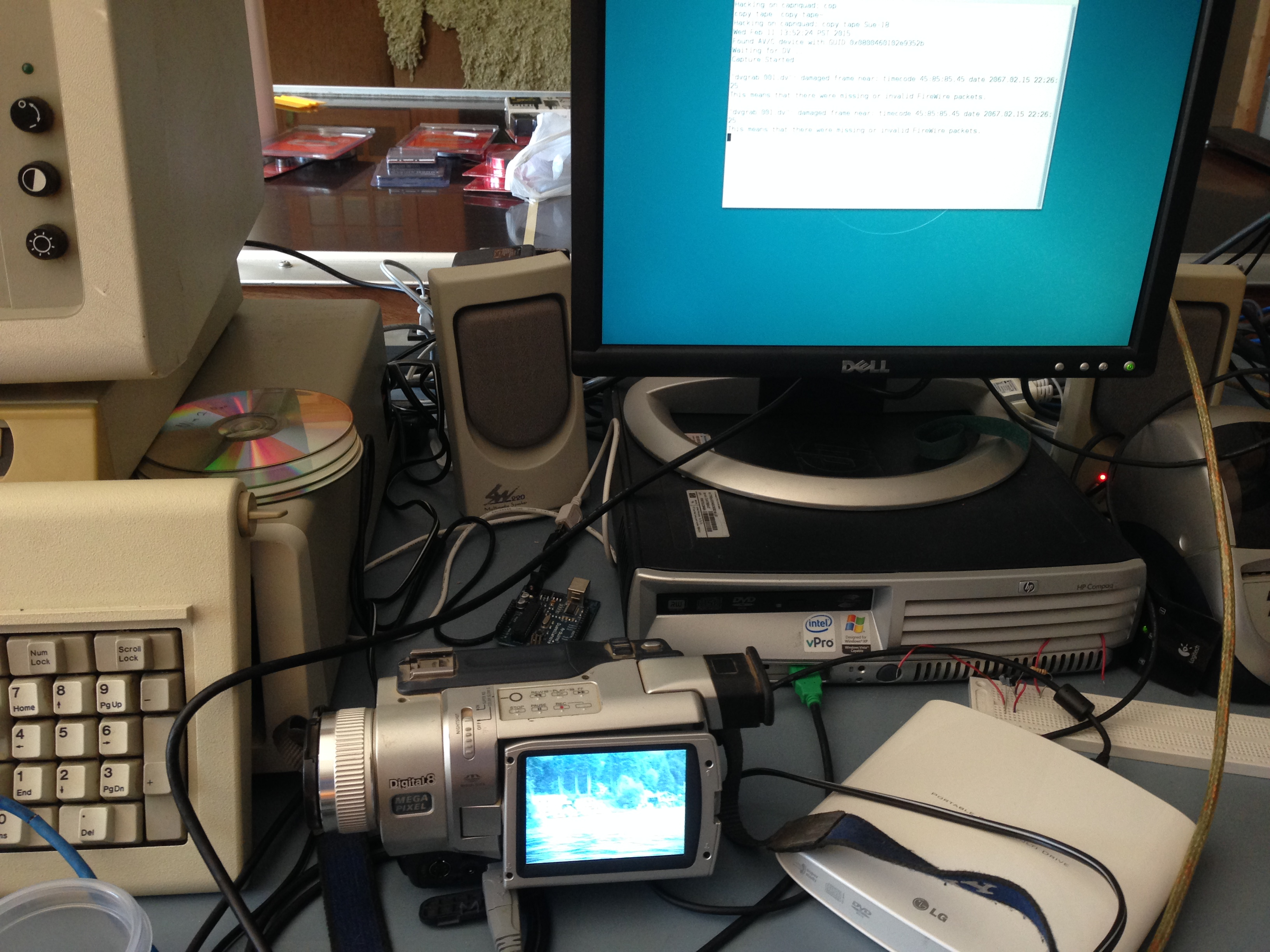 Insentricity :: Processing Digital Video and Digitizing VHS ::