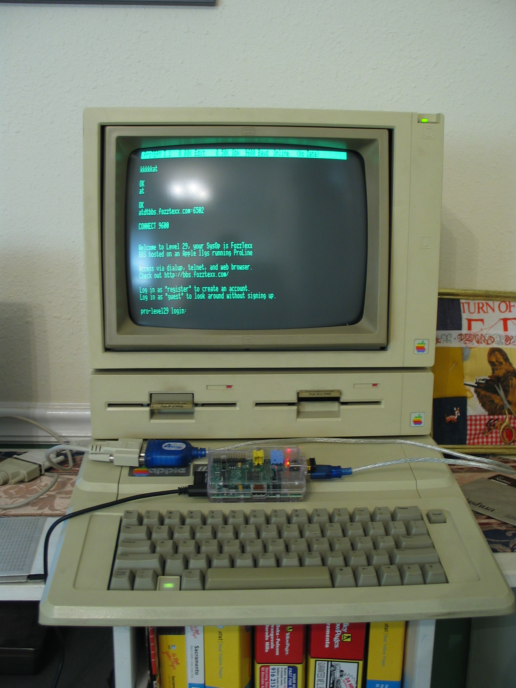 Insentricity :: Putting Your Retro Computer On the Line ::